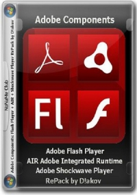 Adobe components: Flash Player 23.0.0.207 + AIR 23.0.0.257 + Shockwave Player 12.2.5.195 (2016) PC | RePack by D!akov